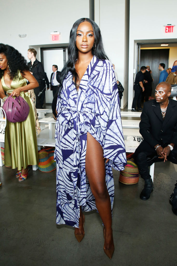 JUSTINE SKYE AT THE STUDIO 189 SHOW, 2019