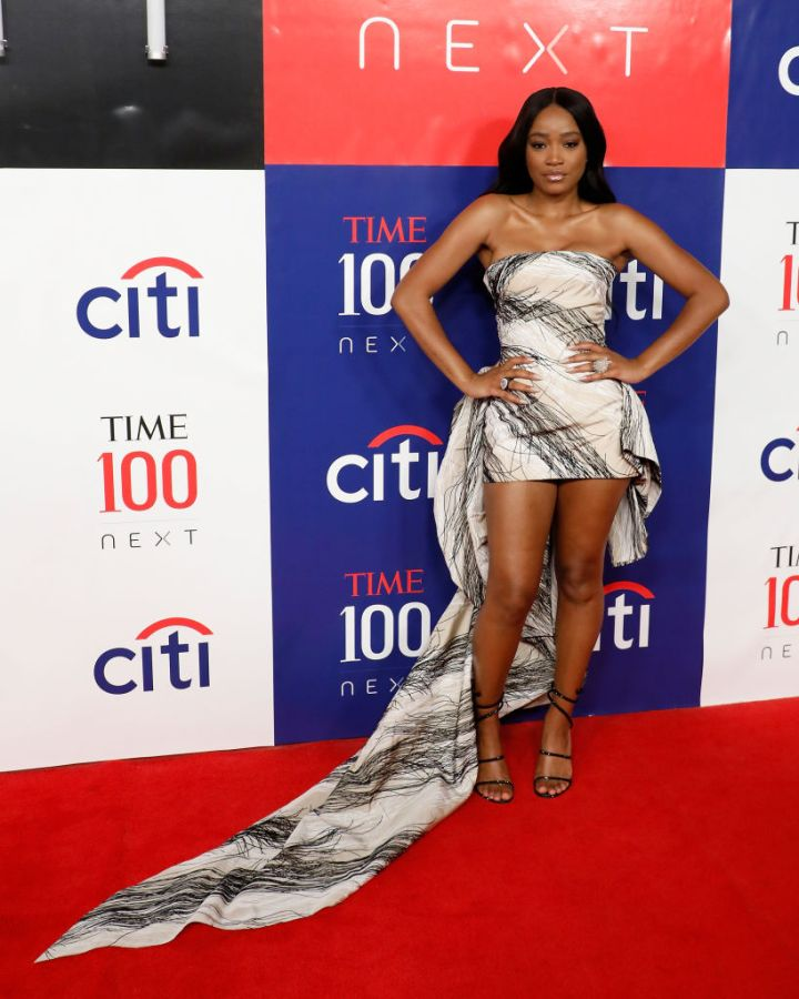 KEKE PALMER AT THE TIME 100 NEXT EVENT, 2019