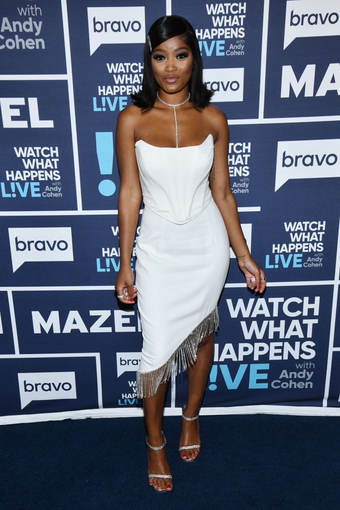 KEKE PALMER ON WATCH WHAT HAPPENS LIVE WITH ANDY COHEN, 2019