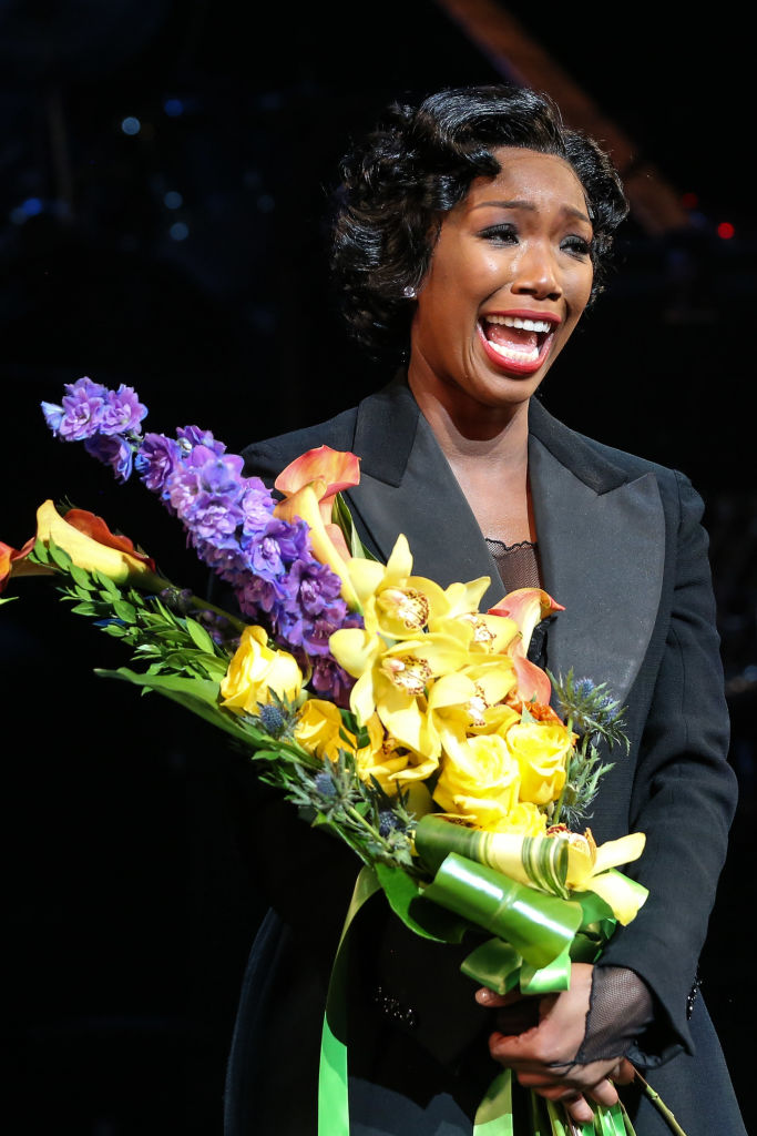 Brandy Took Acting to Another Level with Her Broadway Debut