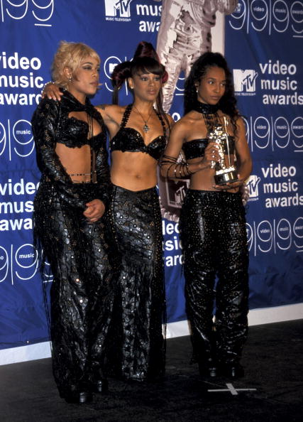 TLC AT THE MTV VIDEO MUSIC AWARDS, 1999