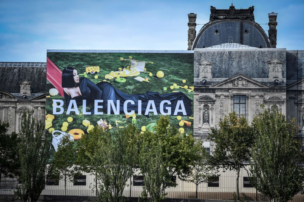 FRANCE-US-MUSIC-FASHION-BALENCIAGA