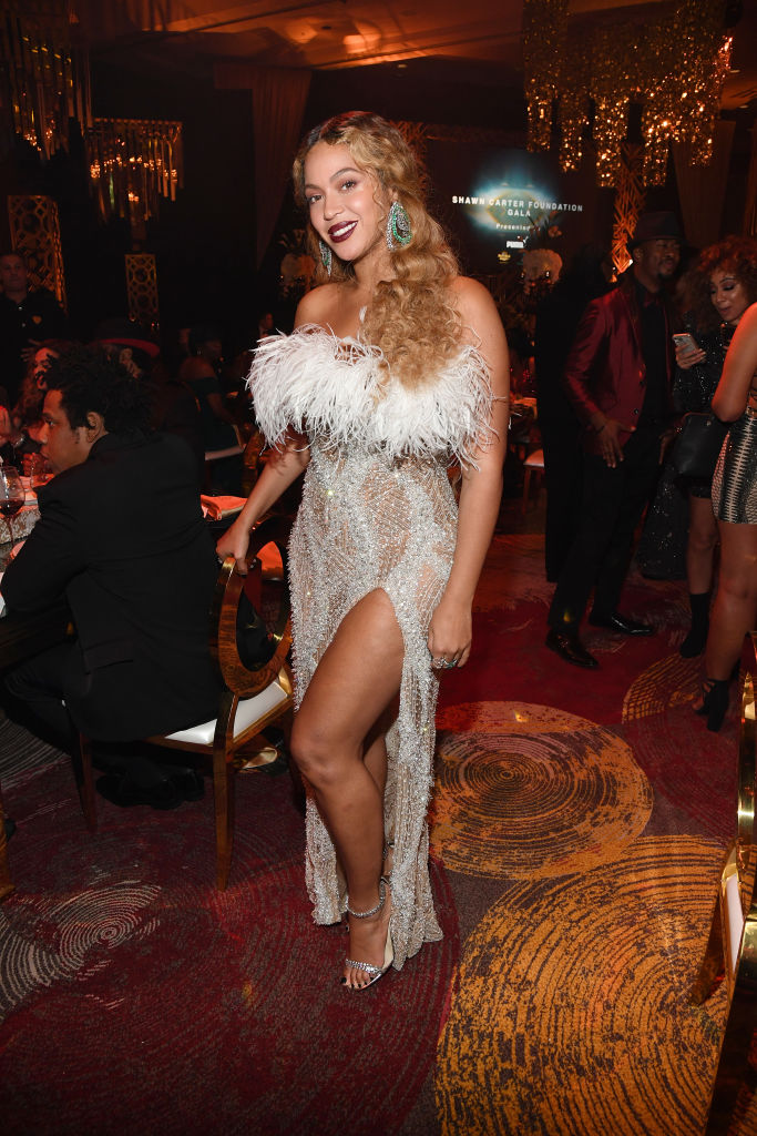 BEYONCE AT THE SHAWN CARTER FOUNDATION GALA, 2019