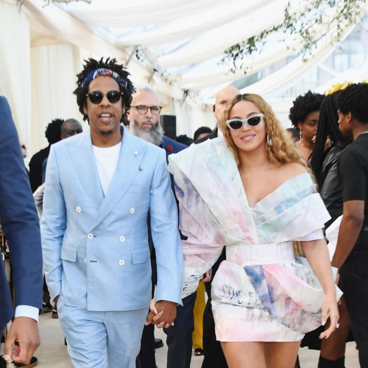 BEYONCE AND JAY-Z AT THE ROC NATION BRUNCH, 2019