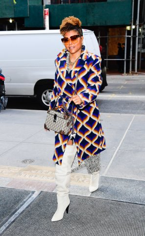 Celebrity Sightings In New York City - January 24, 2020