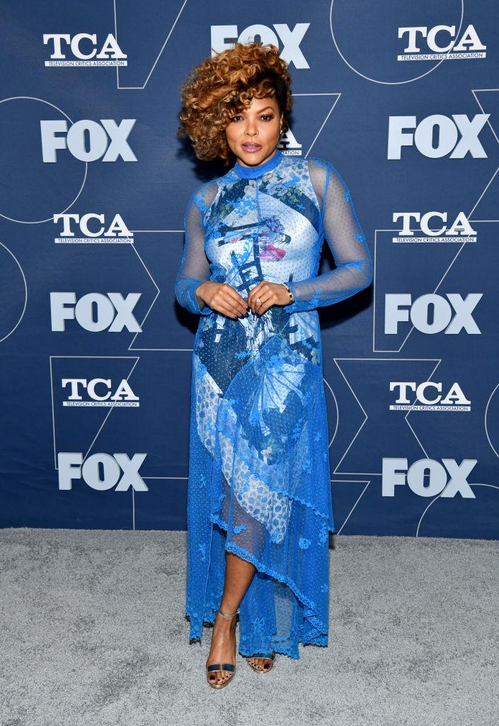 TARAJI P. HENSON AT THE FOX WINTER TCA ALL STAR PARTY