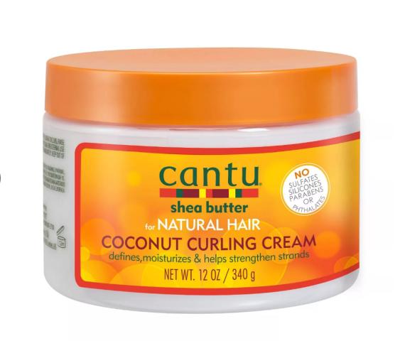 Cantu Coconut Curling Cream- 12 fl oz