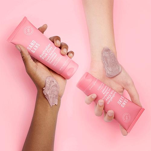 Australian Pink Clay Flash Perfection Exfoliator