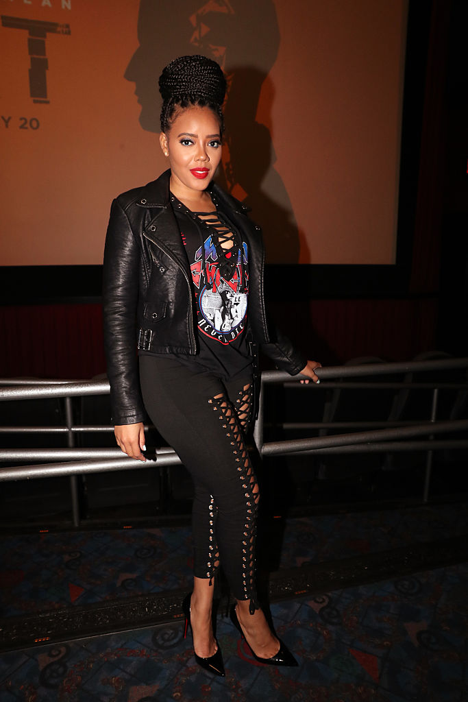 "ANGELA SIMMONS AT THE ""SPLIT"" SPECIAL SCREENING, 2017"