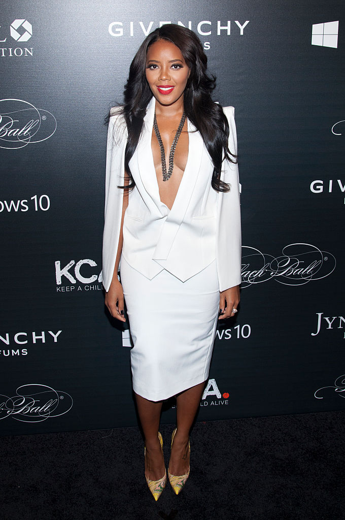 "ANGELA SIMMONS AT THE ""KEEP A CHILD ALIVE"" 12th ANNUAL BLACK BALL, 2015"