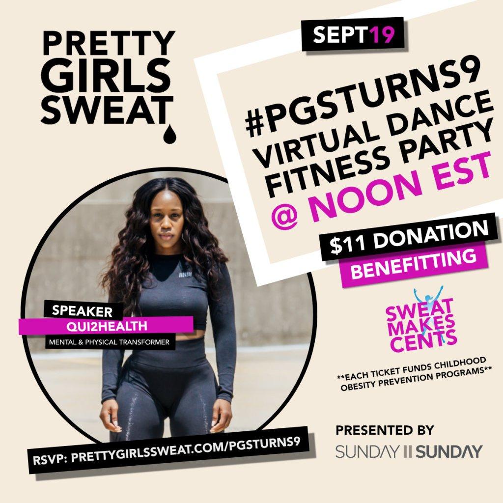 Pretty Girls Sweat & Sunday II Sunday