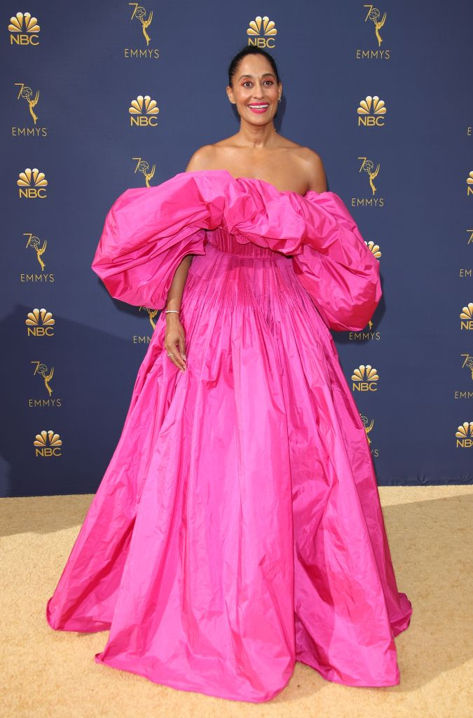 TRACEE ELLIS ROSS AT THE 70TH ANNUAL EMMY AWARDS, 2018
