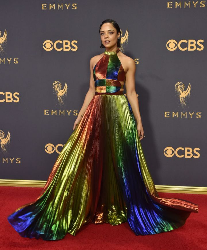 TESSA THOMPSON AT THE 69TH ANNUAL PRIMETIME EMMY AWARDS, 2017