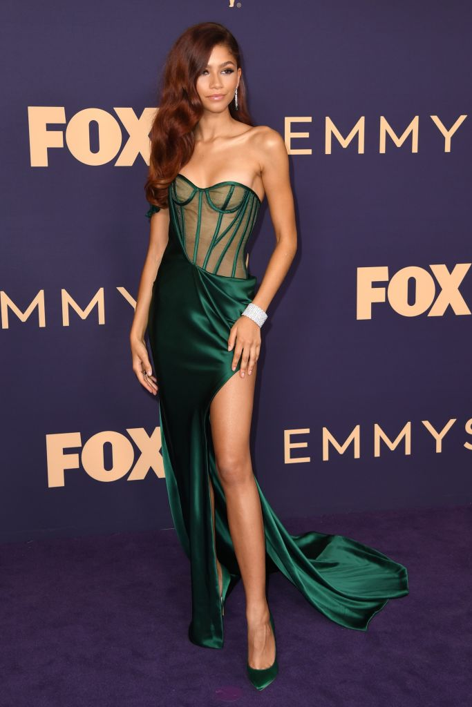 ZENDAYA COLEMAN AT THE 71ST ANNUAL PRIMETIME EMMY AWARDS, 2019