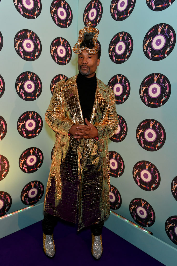 BILLY PORTER AT THE UNIVERSAL BRITS AFTER PARTY, 2020