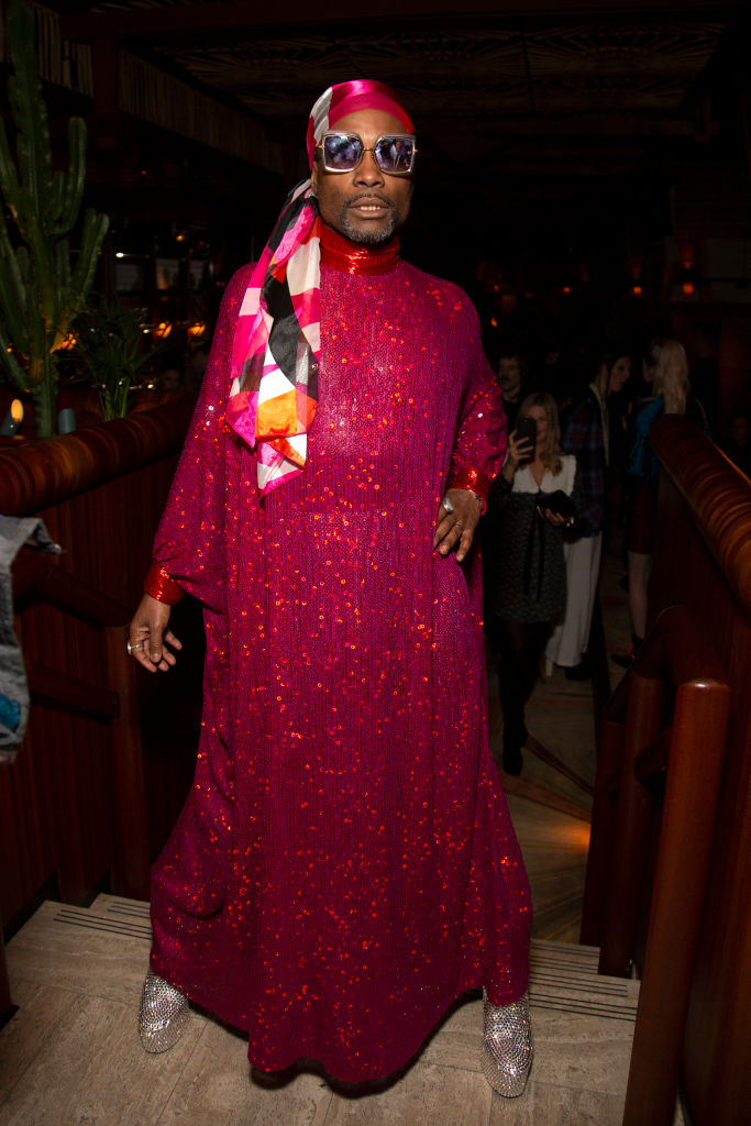 BILLY PORTER AT THE LOVE MAGAZINE PARTY, 2020
