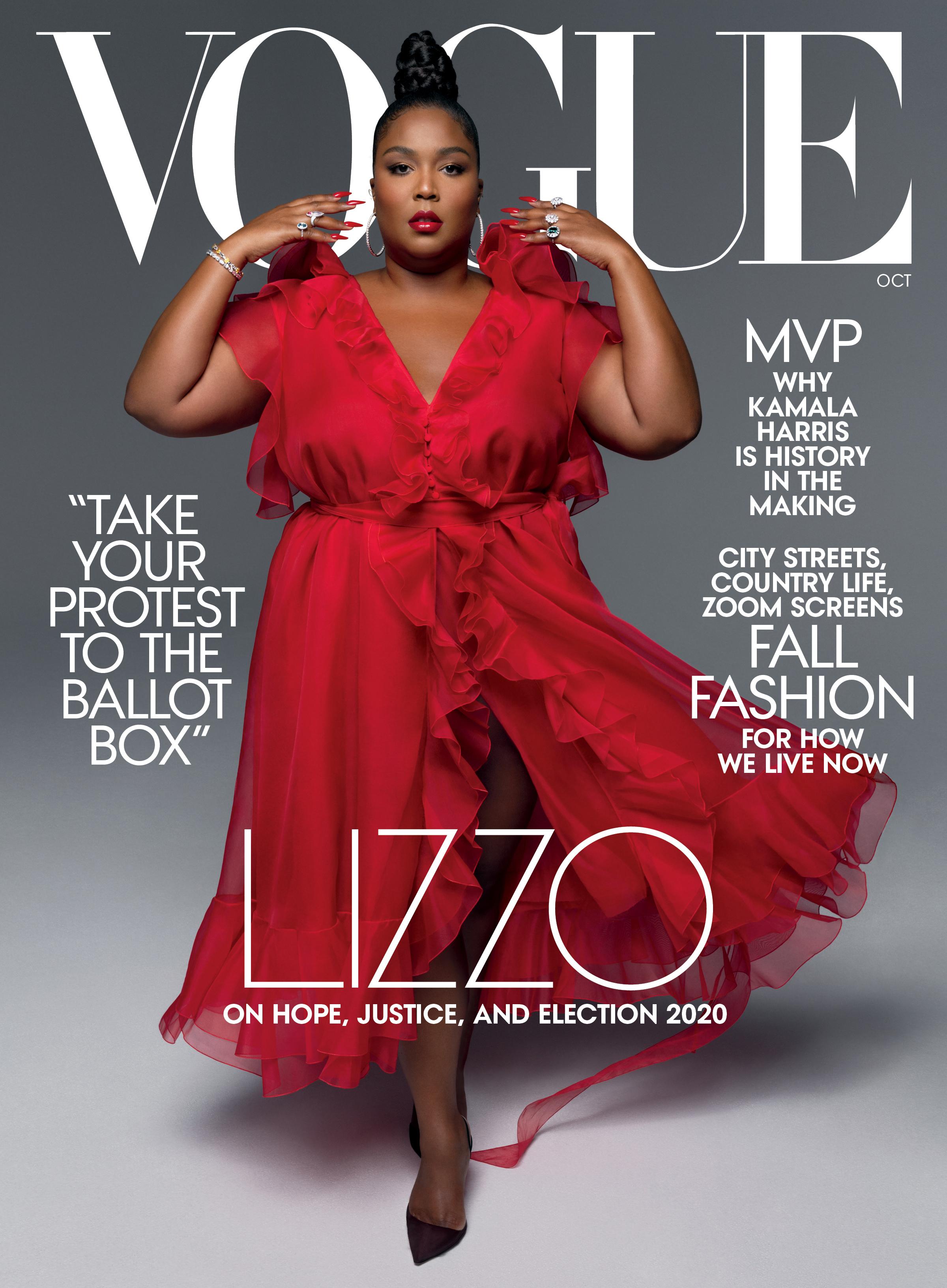 Lizzo Vogue