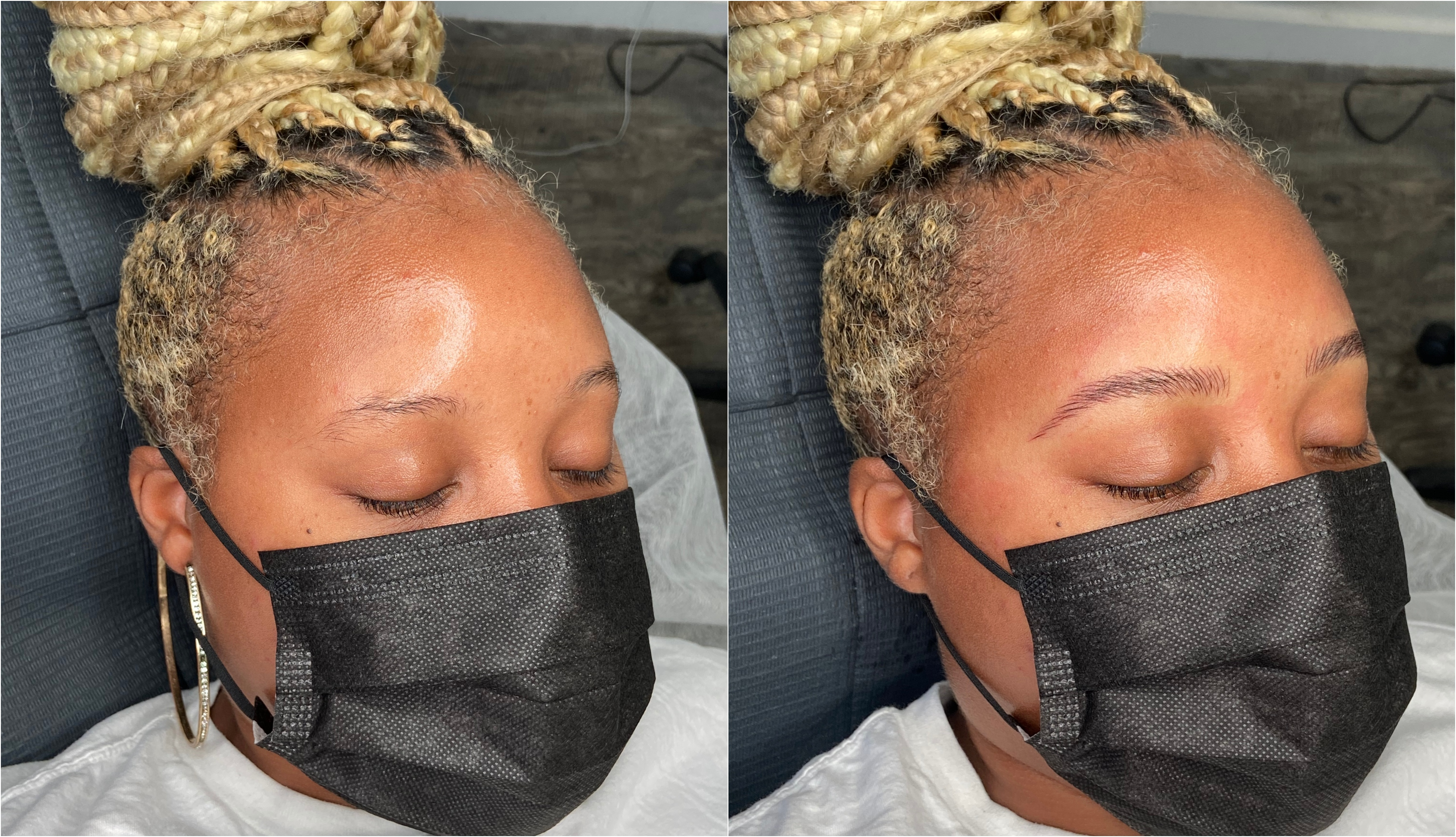 D' Shonda Microblading Before/After