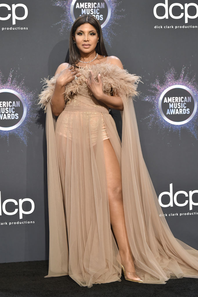 TONI BRAXTON AT THE 47TH ANNUAL AMERICAN MUSIC AWARDS, 2019