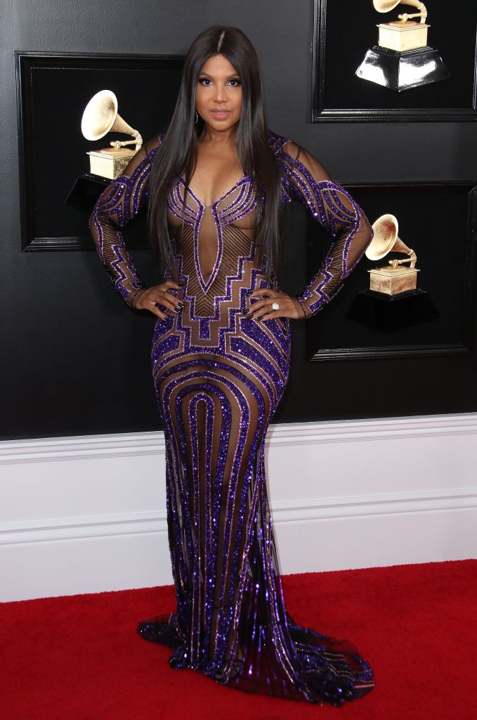 TONI BRAXTON AT THE 61ST ANNUAL GRAMMY AWARDS, 2019