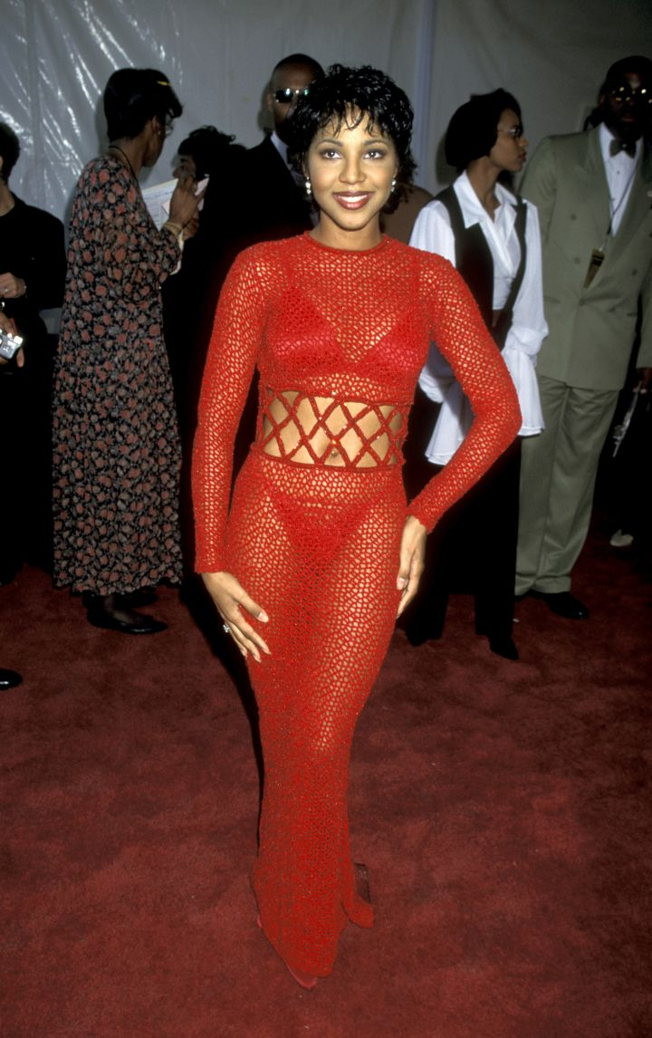 TONI BRAXTON AT THE 9TH ANNUAL SOUL TRAIN MUSIC AWARDS, 1995