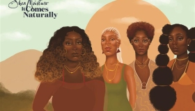 "Shea Moisture ""It Comes Naturally"" Illustration"