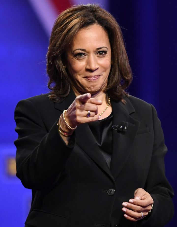 KAMALA HARRIS AT A TOWN HALL HOSTED BY CNN, 2020