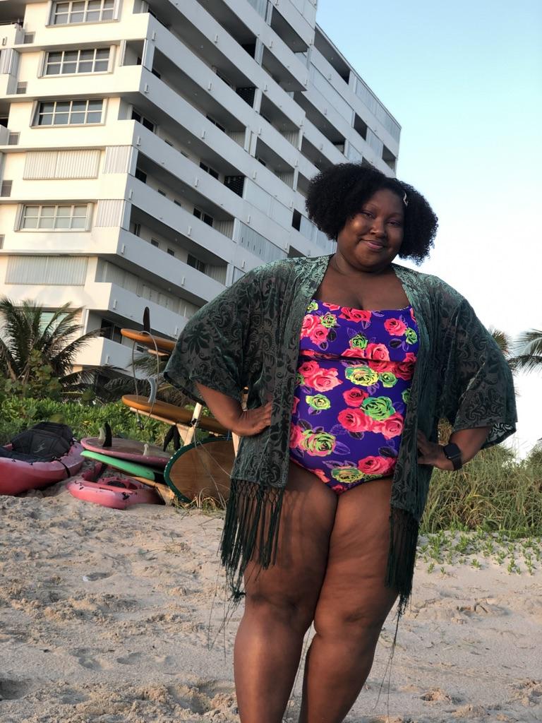 Keyaira Boone in Ruby Love Swimswear
