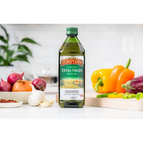 Pompeian Extra Virgin Olive Oil Smooth