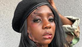 Anika Stewart Halloween Makeup