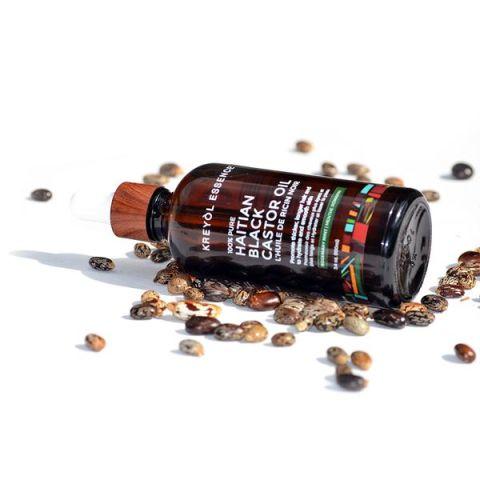 Kreyol Essence Haitian Black Castor Oil-Rosemary Mint