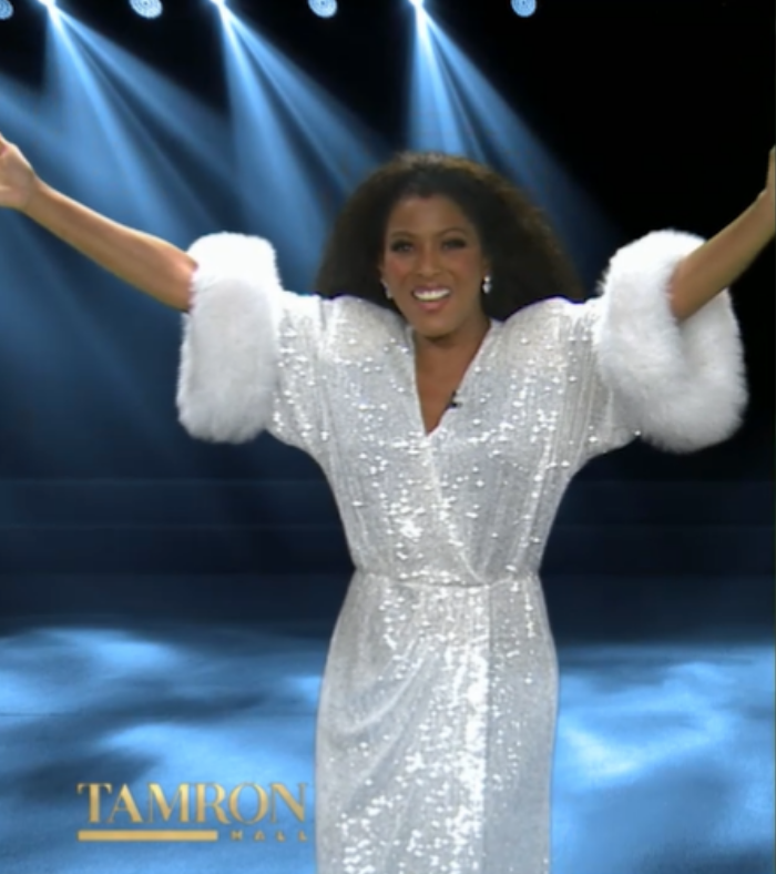 Tamron Hall Diana Ross Halloween Costume