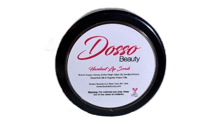 Dosso beauty Hazelnut Lip Scrub