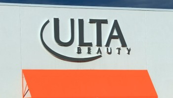 Ulta Beauty store entrance sign