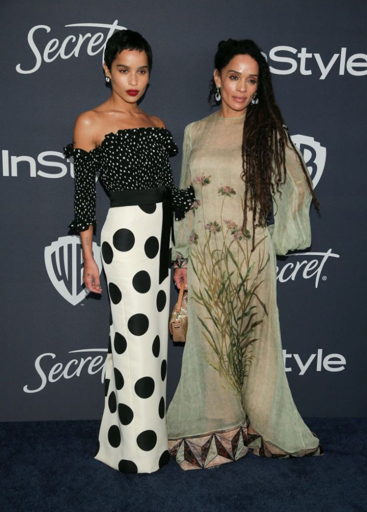 LISA BONET AT THE 21ST ANNUAL WARNER BROS. AND INSTYLE GOLDEN GLOBE AFTER PARTY, 2020