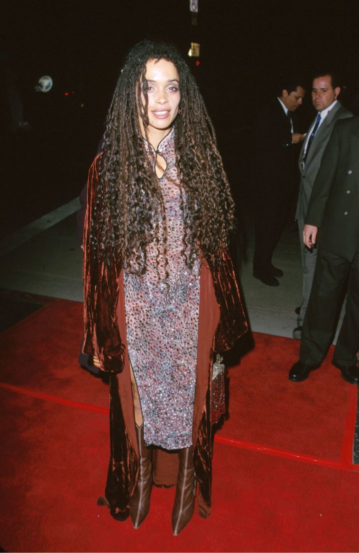 "LISA BONET AT THE ""HIGH FIDELITY"" HOLLYWOOD PREMIERE, 2000"