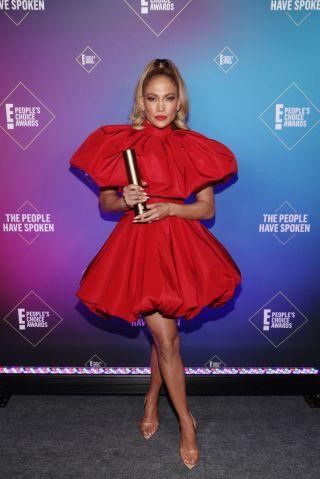 2020 E! People's Choice Awards - Backstage