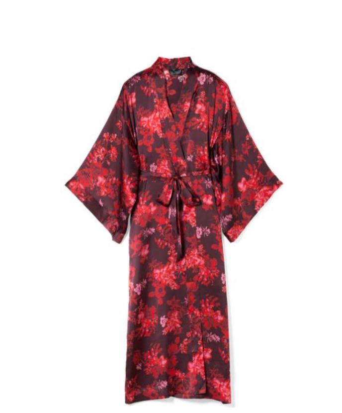 Soma Sensual Silk Kimono Robe