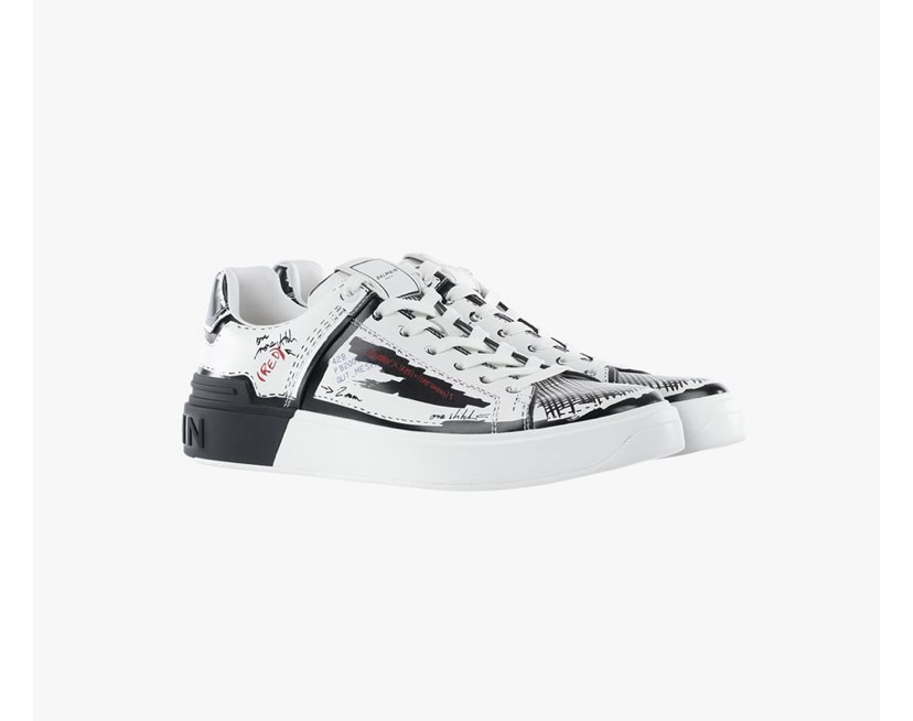 RED x Balmain Limited Edition Sneakers