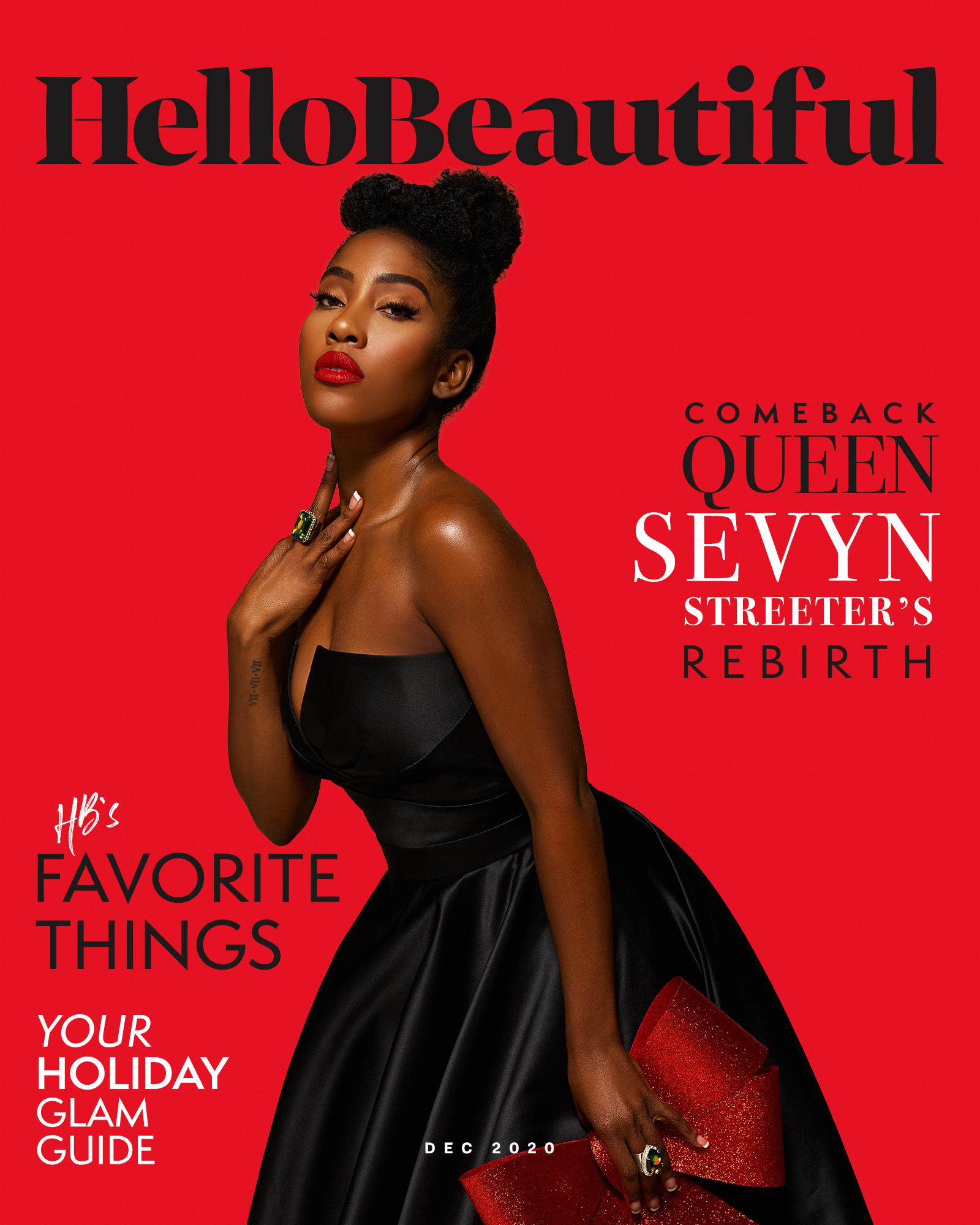 Sevyn Streeter -- December 2020 Cover
