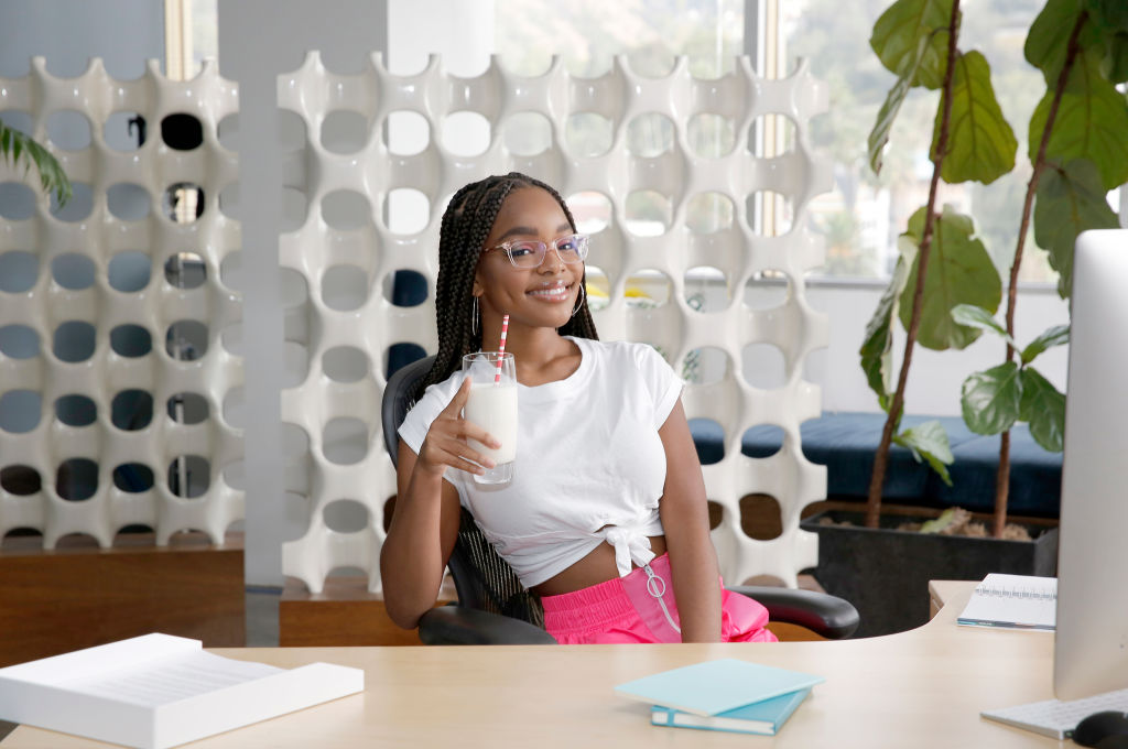 """""""Black-ish"""" Star Marsai Martin Joins the Creators of got milk? to celebrate Kids' Unique Take on Current Events with the Launch of """"Glass Half Full News"""" Video Series"""