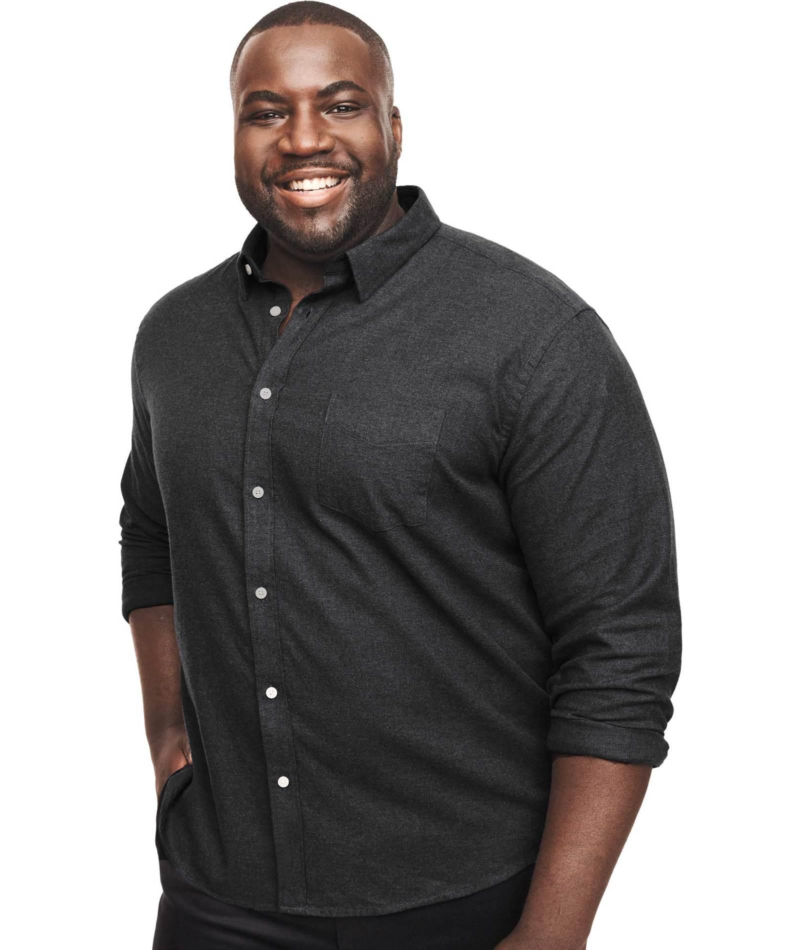 UNTUCKit Flannel Sherwood Shirt - Black