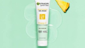 Garnier Pinea-C Gel Wash And Serum Cream