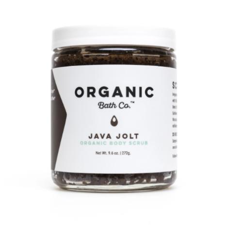 Organic Bath Co. Java Jolt Organic Sugar & Coffee Scrub