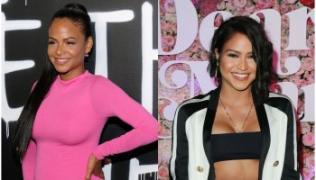 Christina Milian and cassie