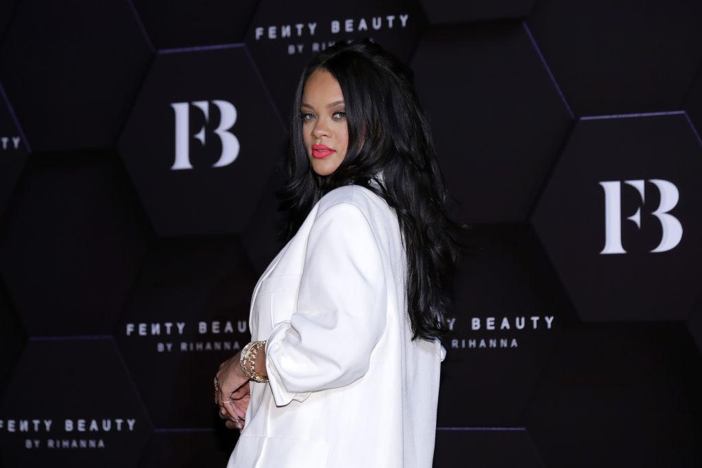 "Rihanna Attends Photocall for ""FENTY BEAUTY"""