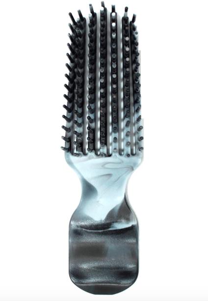 Felicia Leatherwood Detangler Brush - TRAVEL SIZE (Black Marble)