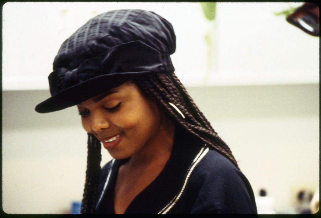 Janet Jackson In 'Poetic Justice'