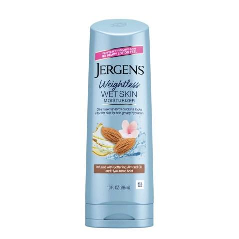 Jergens Wet Skin Cherry Almond Oil Moisturizer