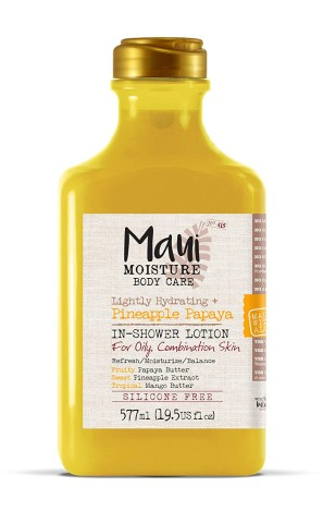 Maui Moisture Body Care Lightly Hydration Pineapple Papaya In-Shower Body Lotion